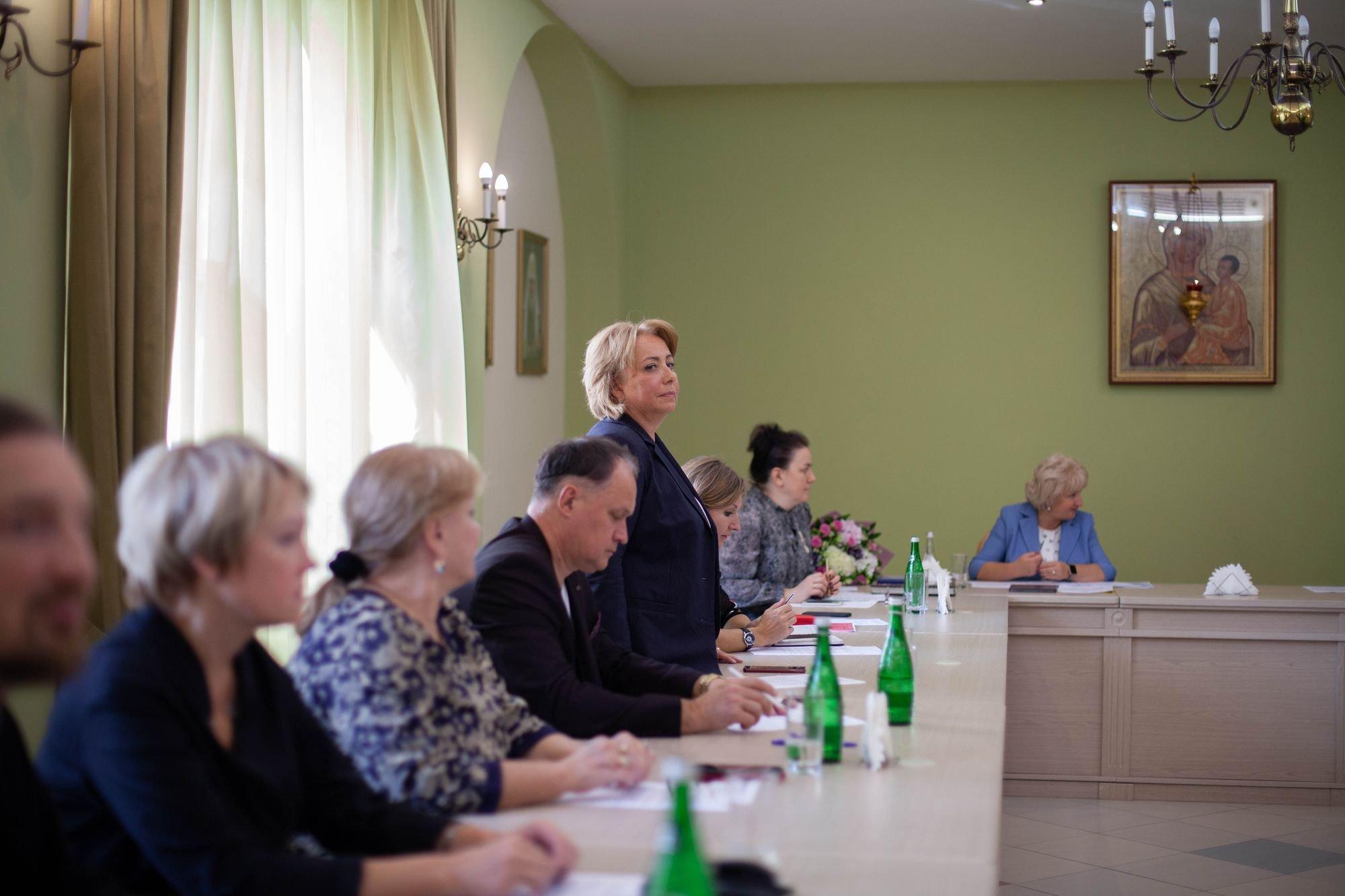 Первое заседание Координационного совета по взаимодействию между Министерством образования Московской области и Московской митрополией